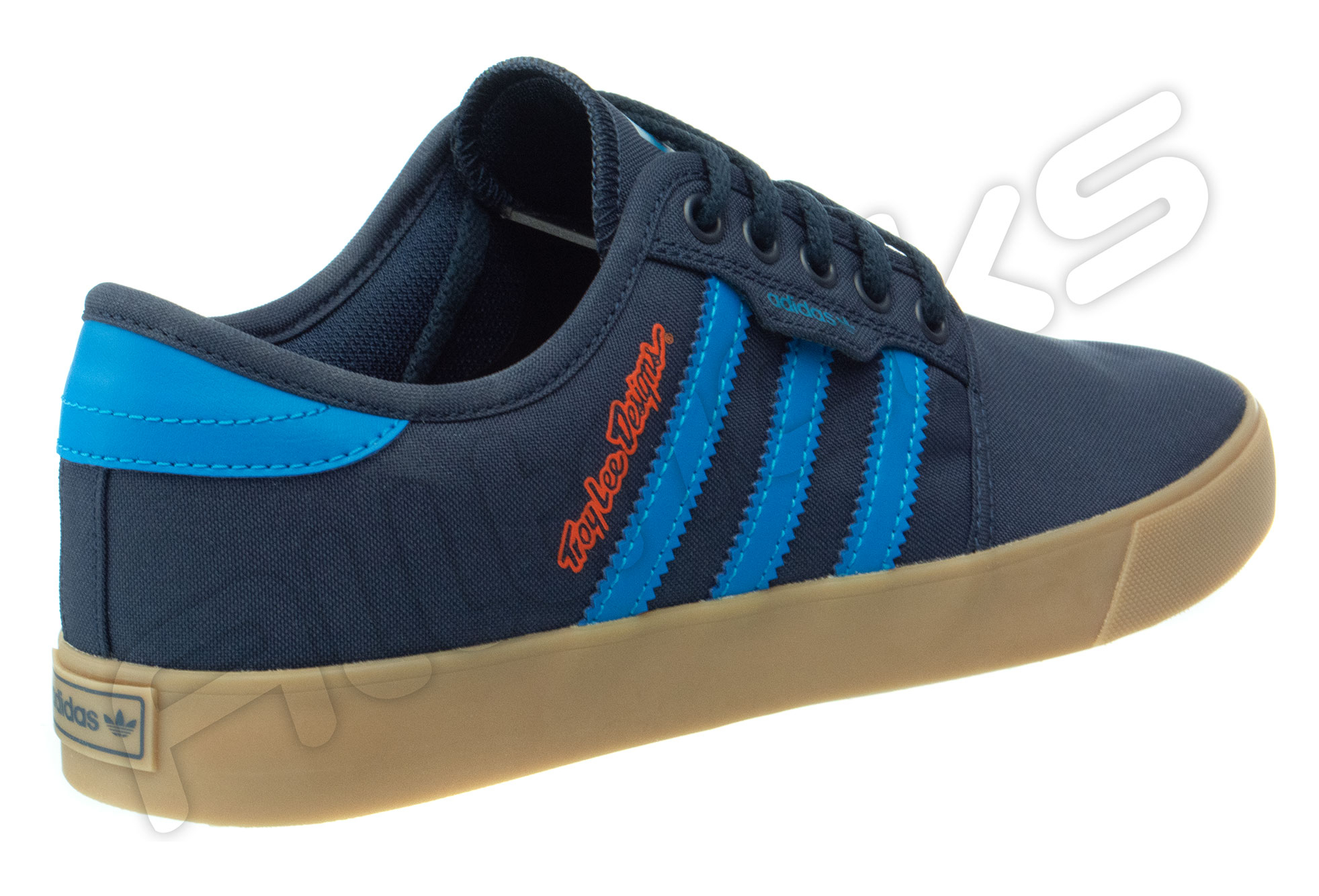 Troy Lee Designs Seeley LTD Adidas Team Shoes Navy Blue