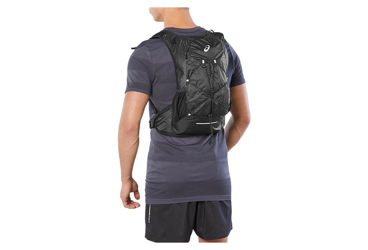 Asics Lightweight Running Backpack Black | Alltricks.com