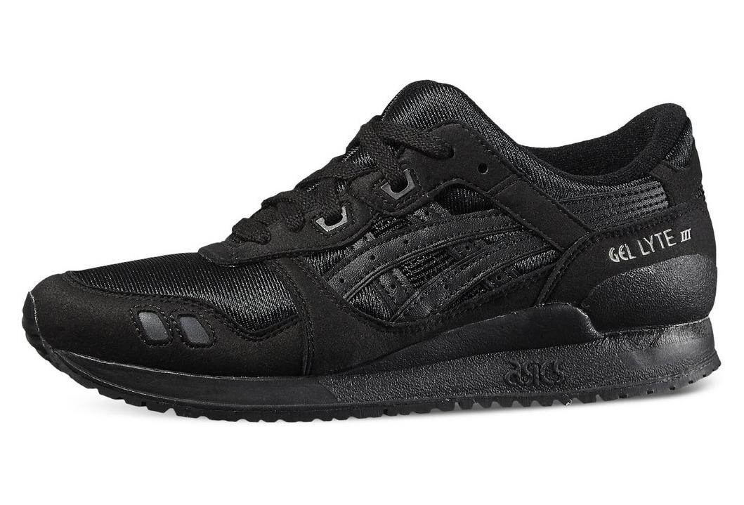meilleur service 9eb41 387e2 Asics Gel Lyte III Gs C5A4N-9099 Garçon sneakers Noir