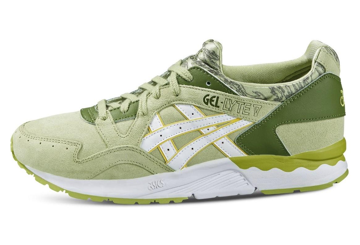 code promo 5061b 091f9 Asics Gel Lyte IV H6D1L-7301 Femme chaussures de sport Vert