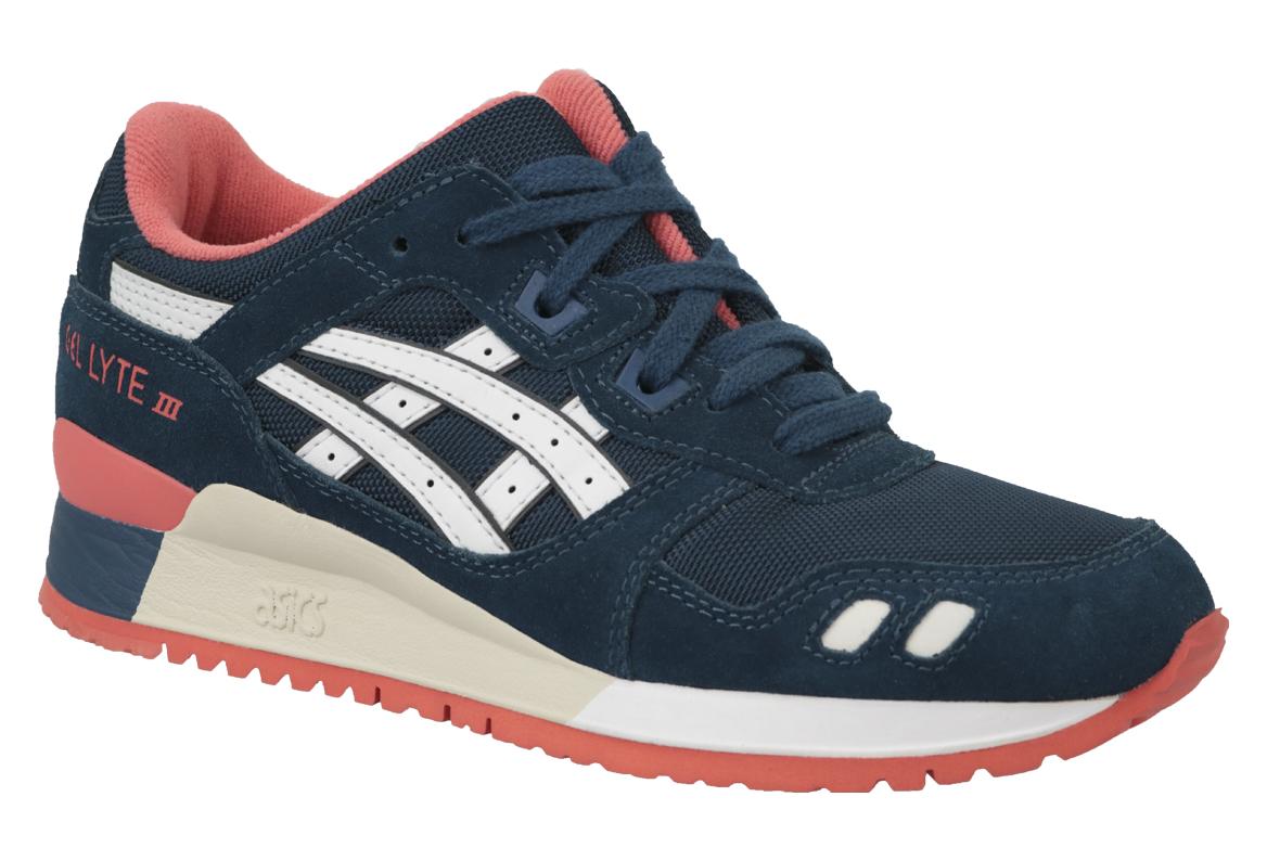 la meilleure attitude eef17 d27d4 Asics Gel-Lyte III HN553-5801 Femme sneakers Bleu fonc?