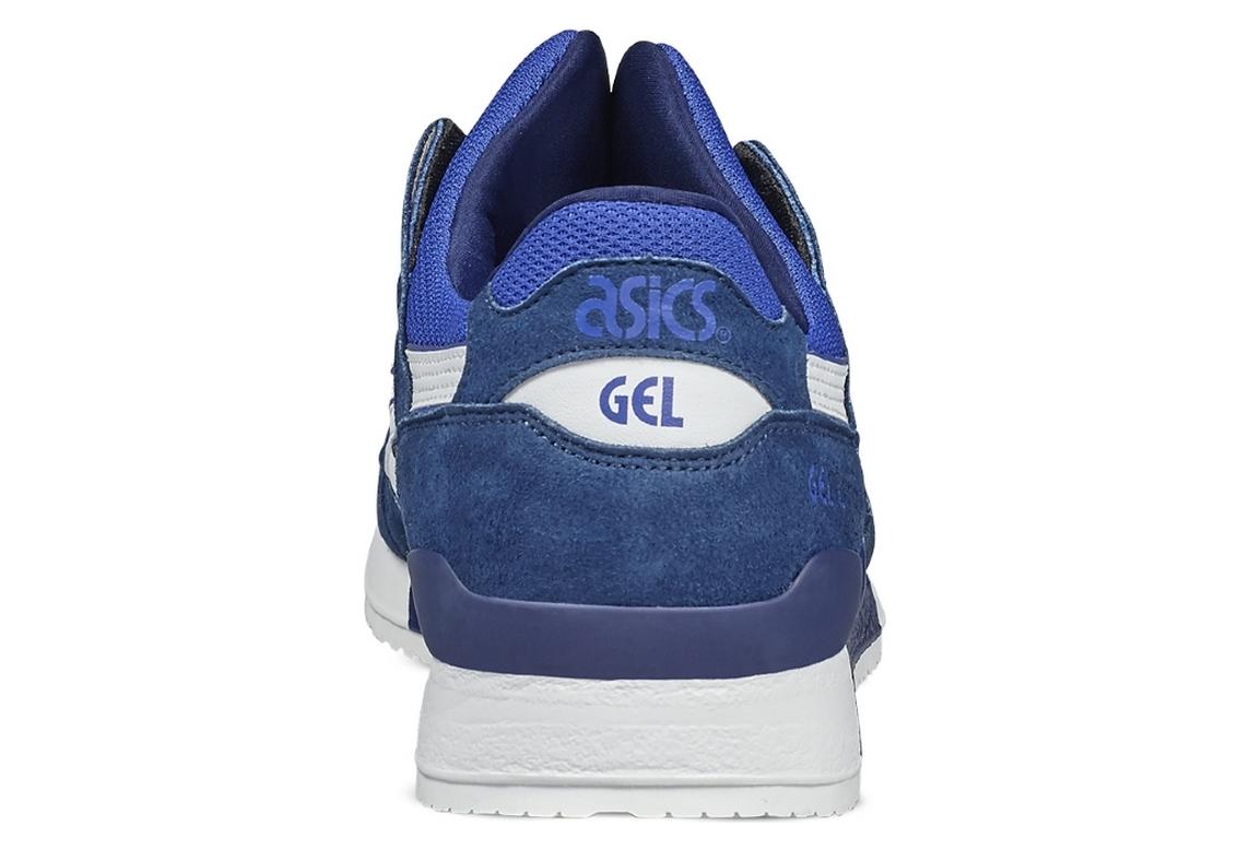 prix compétitif 2f6bc 9c67b Asics Gel Lyte III H7K4Y-4501 Homme chaussures de sport Bleu foncé