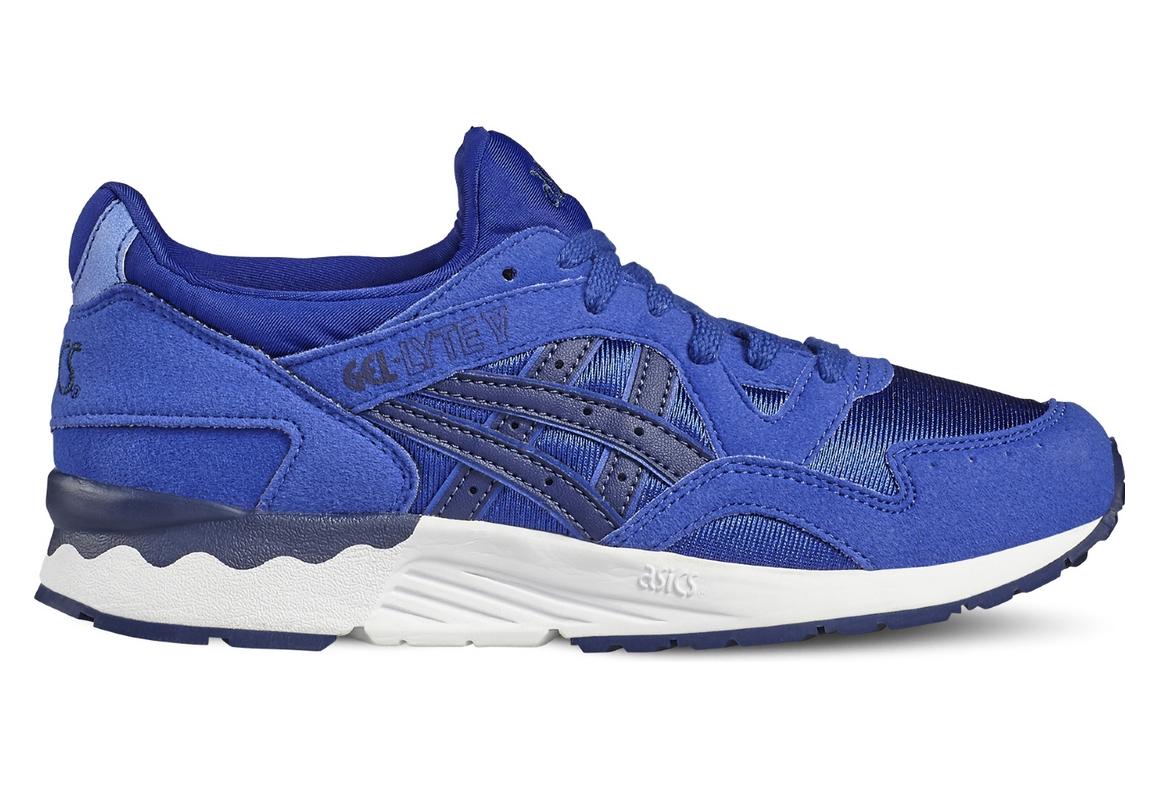 nouveau concept 259d5 26a3f Asics Gel-Lyte V Gs C541N-4549 Gar?on sneakers Bleu