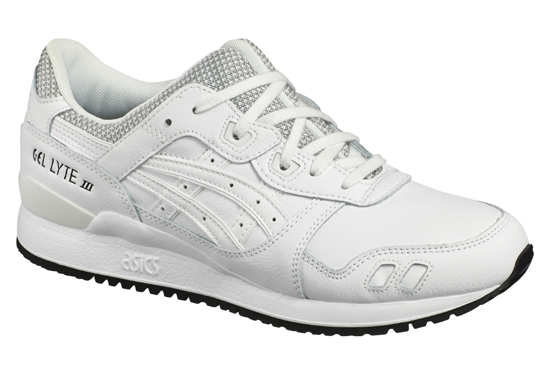 code promo 7600f 4bc10 Asics Gel Lyte III HL701-0101 Homme chaussures de sport Blanc