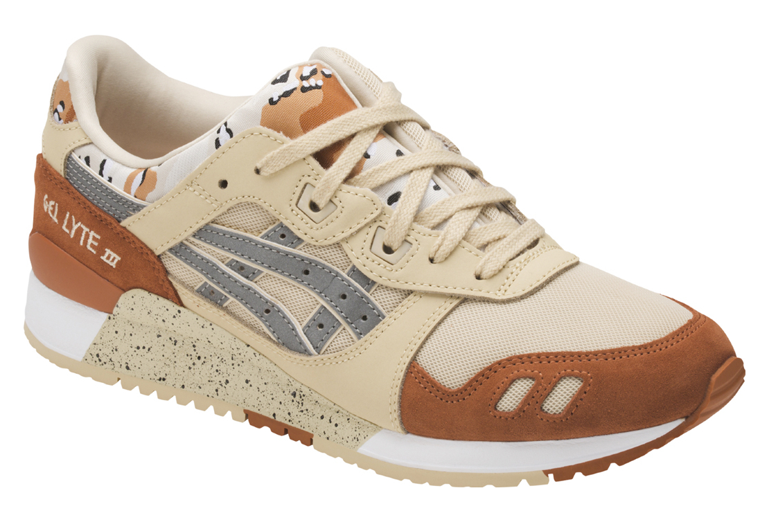 uk availability 24718 ad436 Asics Gel Lyte III H7Y0L-0593 Homme chaussures de sport Beige