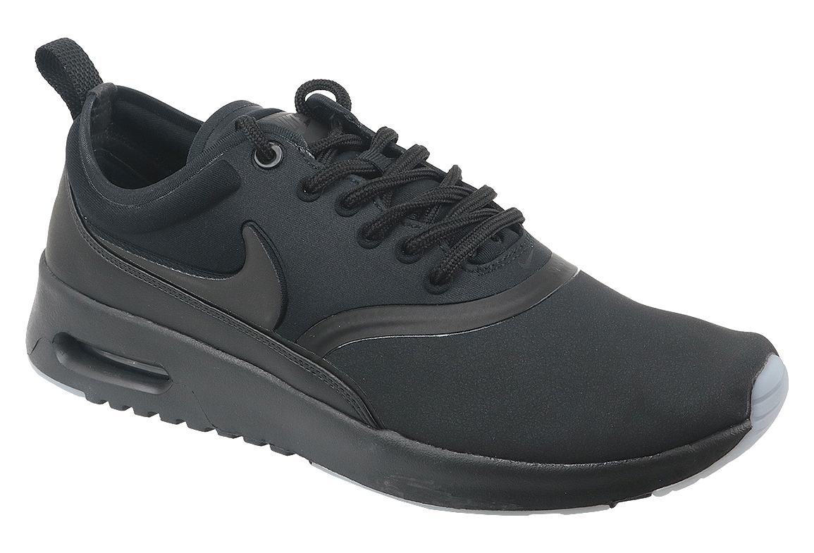 taille 40 9ad19 f2d7c Nike Air Max Wmns Thea Premium 848279-005 Femme sneakers Noir