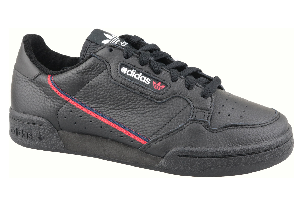 adidas Continental 80 G27707 Homme sneakers Noir