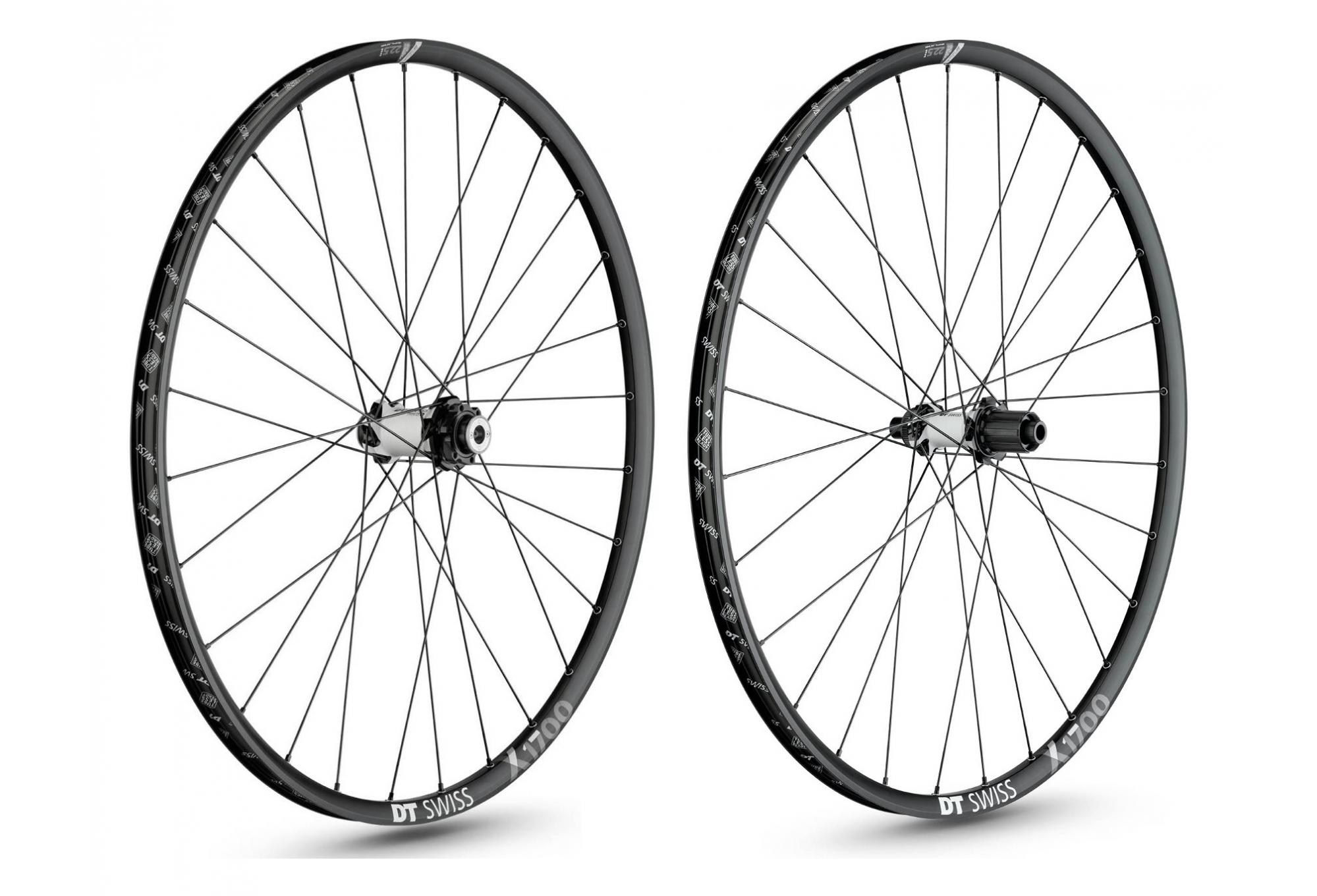 Pair of Wheels MTB DT Swiss X1700 Spline 25 27 5'' | RS-1 Predictive  Stering | 12x142mm | Corps Sram XD 2019