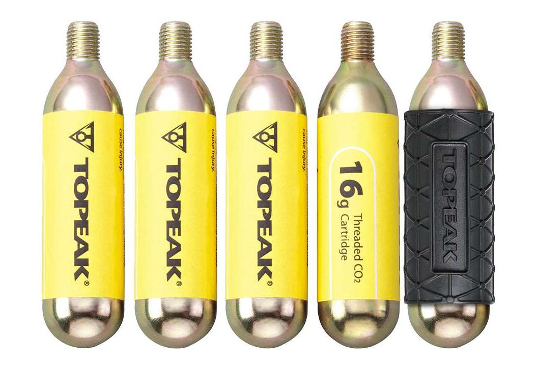 TOPEAK Micro Booster de v/élo CO2 Pompe /à cartouche