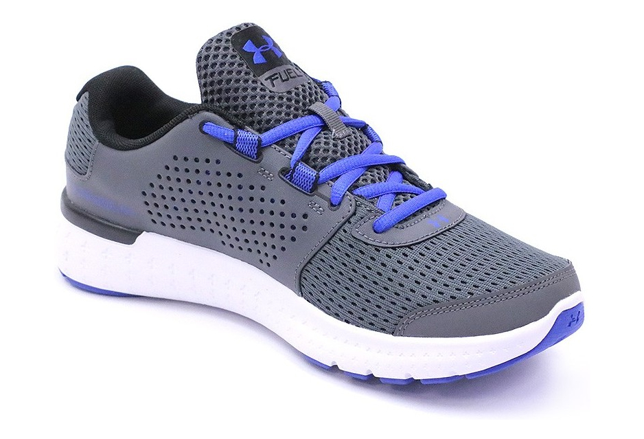 innovative design f6232 8e27b Chaussures Micro G Fuel Rn Gris Running Homme Under Armour