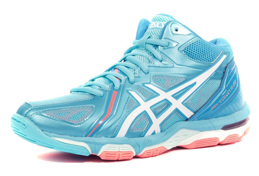 K0wopn Bleu Chaussures Elite Volley Mt Ball Femme Gel 3 Asics TOXZuwPki