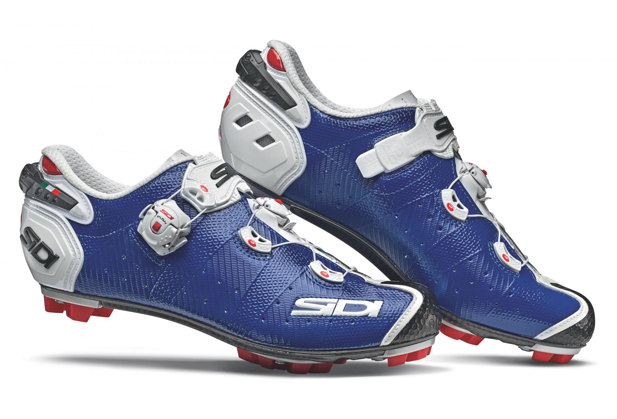 7658a46db72 Sidi Drako 2 SRS MTB Shoes Blue White | Alltricks.com
