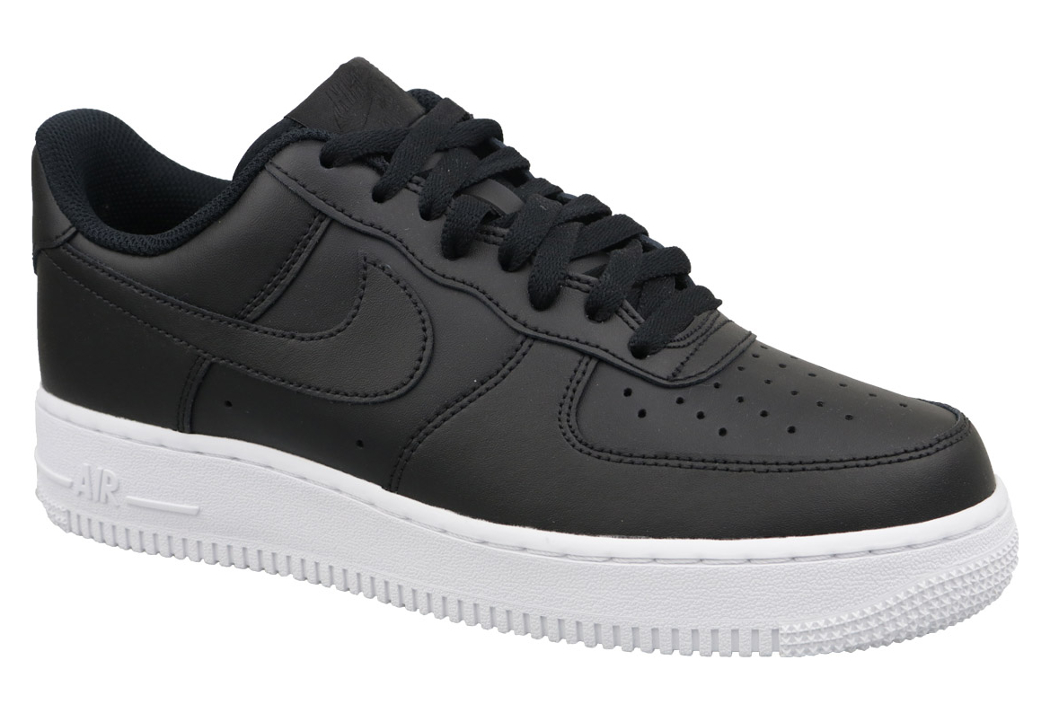 plus récent 8dc92 a336d Nike Air Force 1 '07 AA4083-015 Homme chaussures de skate Noir