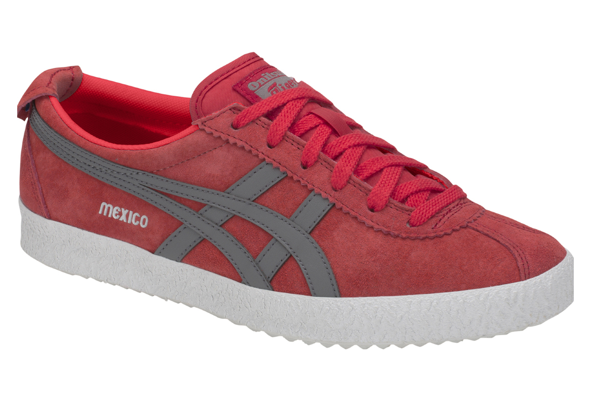 cheap for discount cd35f 6b590 Onitsuka Tiger Mexico Delegation D6E7L-600 Homme chaussures de sport Rouge