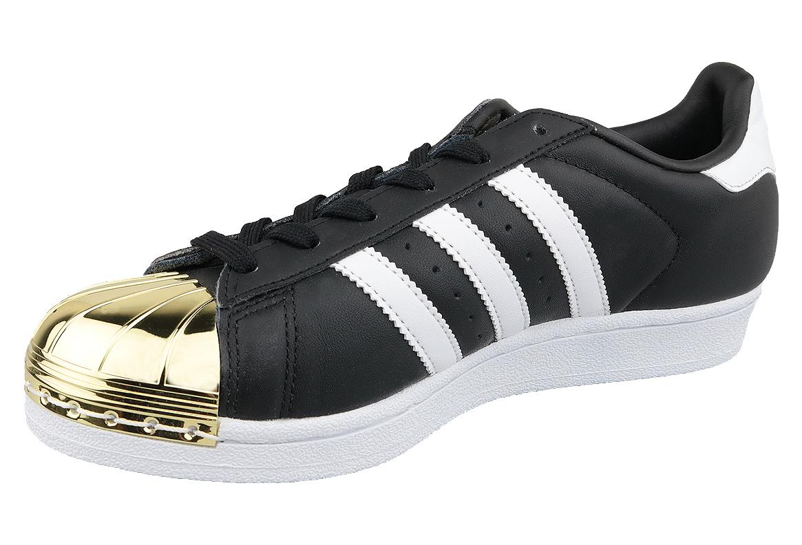 nouveau style 308f1 ea12a adidas Superstar W Metal Toe BB5115 Femme sneakers Noir