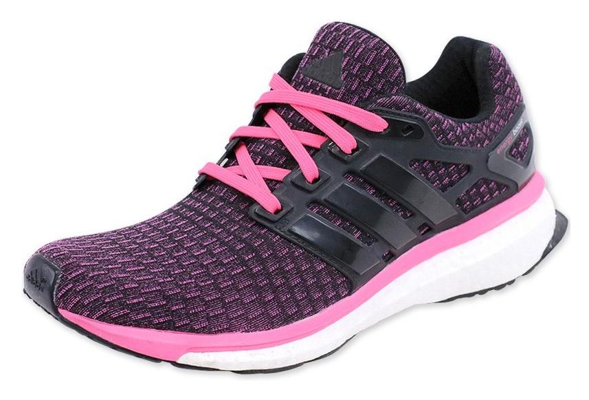 nouveau concept 78933 8c6cb Chaussures Noir Energy Boost Running Femme Adidas