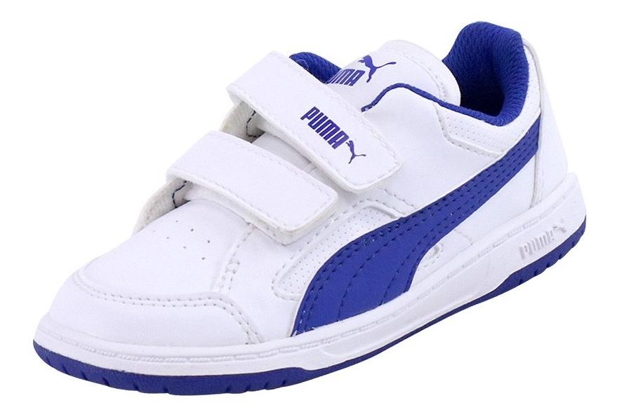pas mal info pour style exquis Chaussures REBOUND V2 LOW Blanc Bébé Garçon Puma