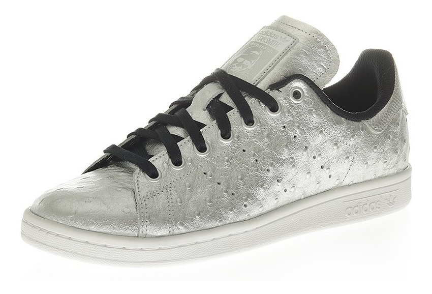 design intemporel 7dfd2 5e66f Chaussures Stan Smith Gris Brillant Homme Adidas
