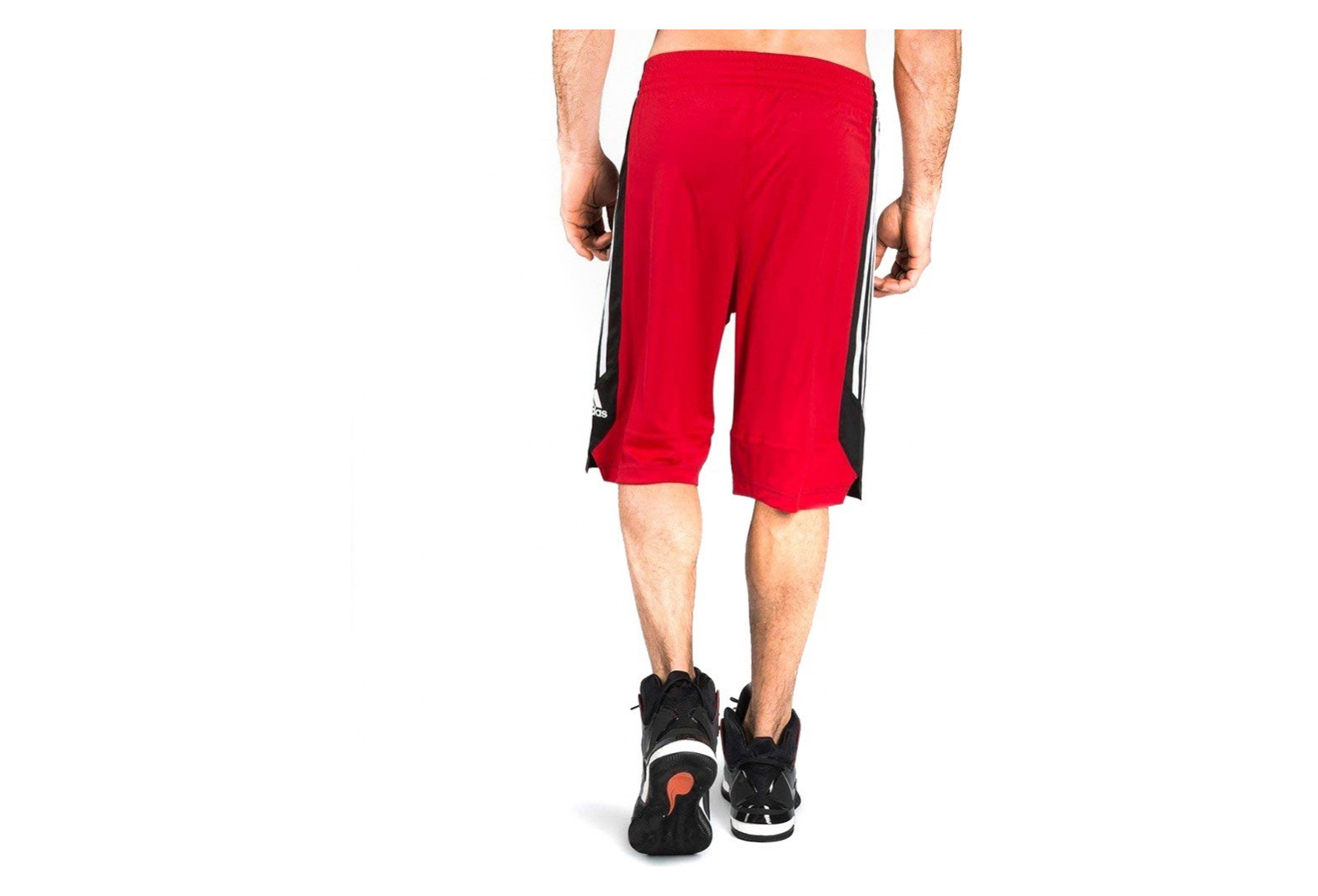 Short Basketball Rouge Homme Adidas Commander FT1J3Kluc5