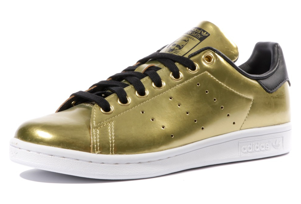 chaussures de sport 72602 7c895 Stan Smith Femme Chaussures Or Adidas