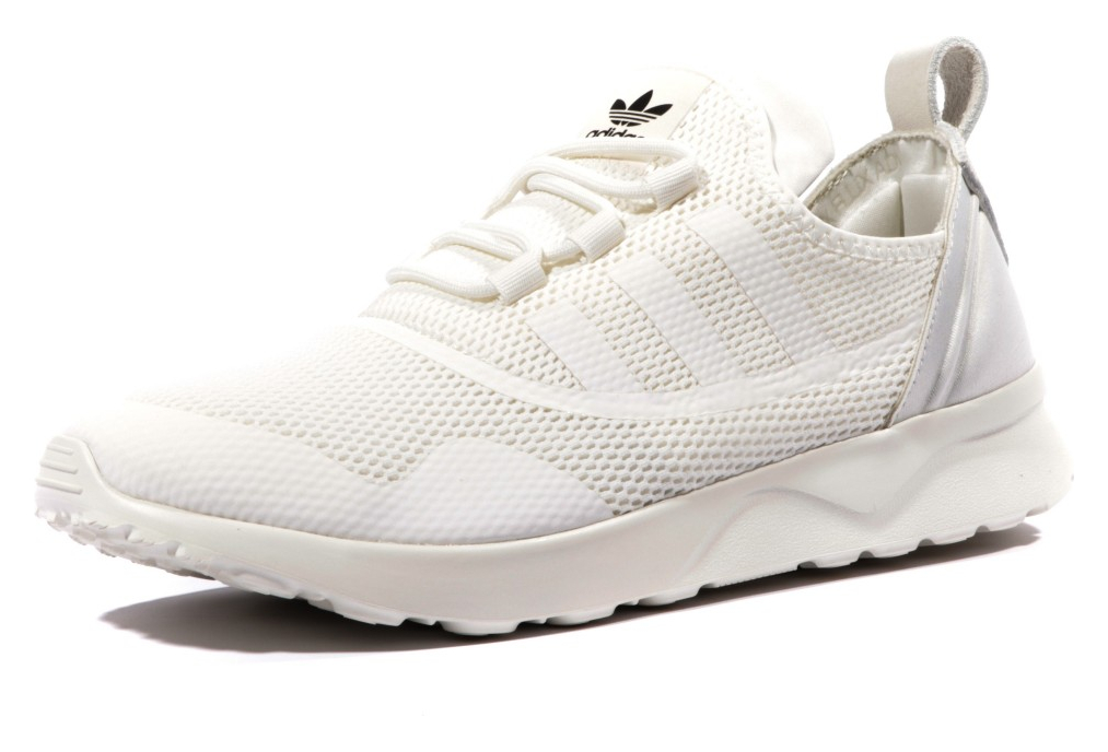 check-out 1095c 3b7fe ZX Flux ADV Femme Chaussures Ecru Adidas