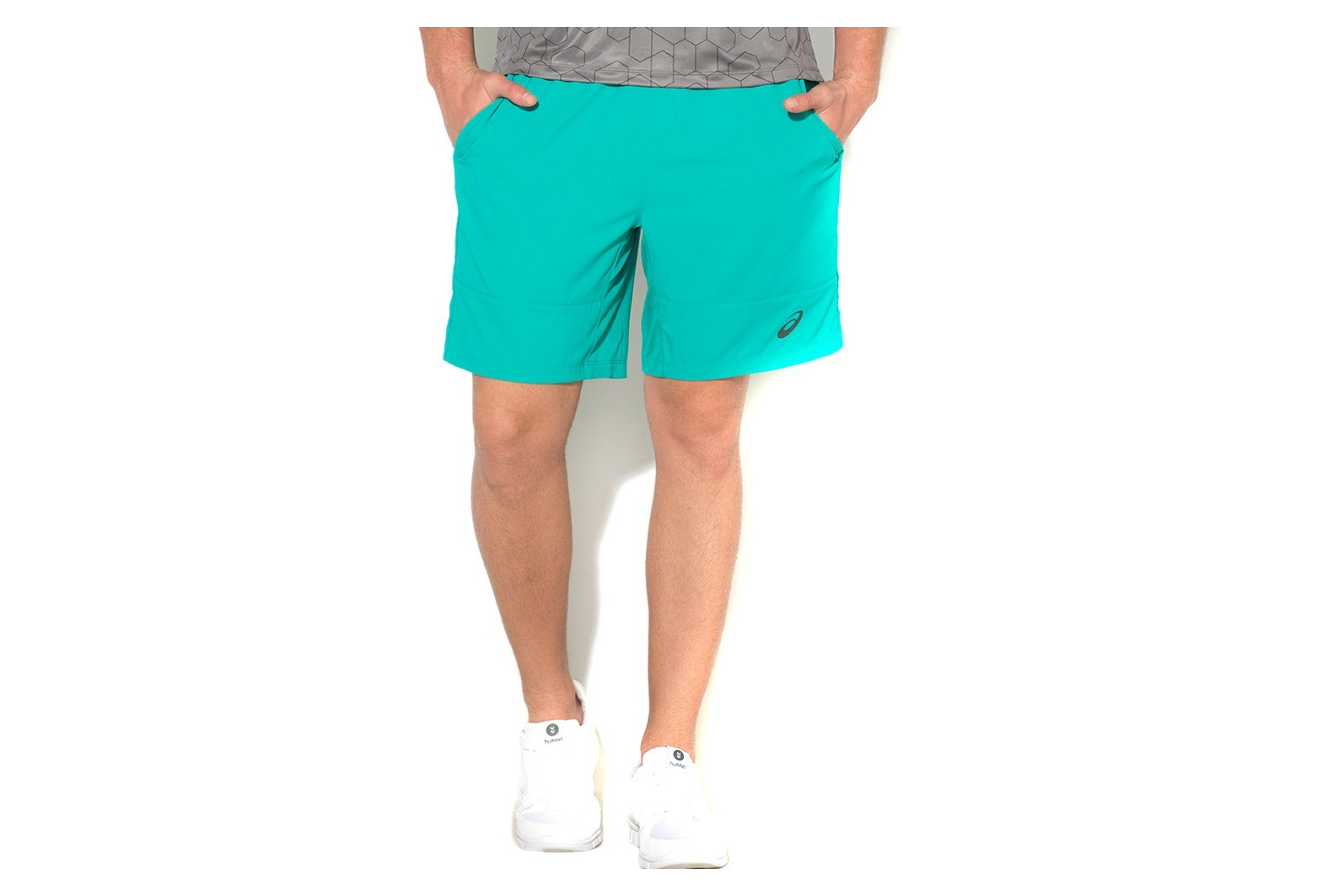 classic good out x buying now M Club Homme Short Tennis Vert Asics
