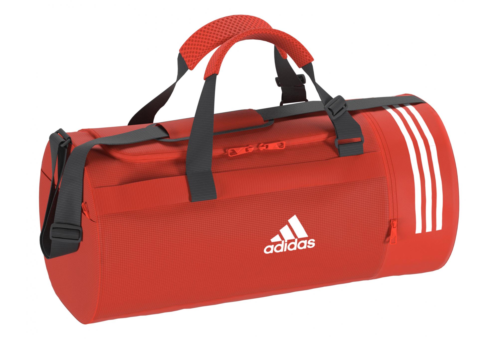 Sac Stripes Convertible Format Toile En Adidas 3 Moyen bY67gyf