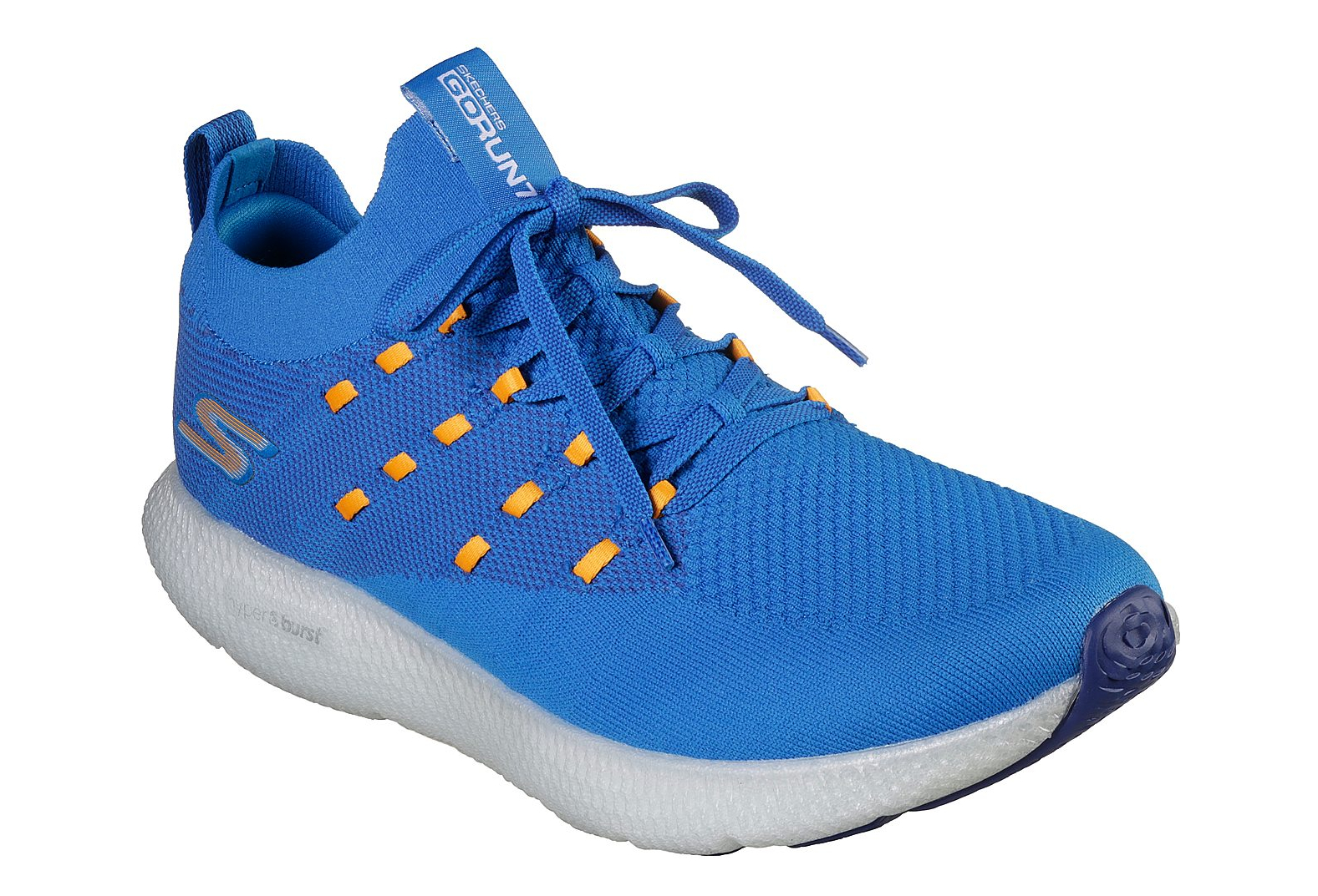 skechers go run blue