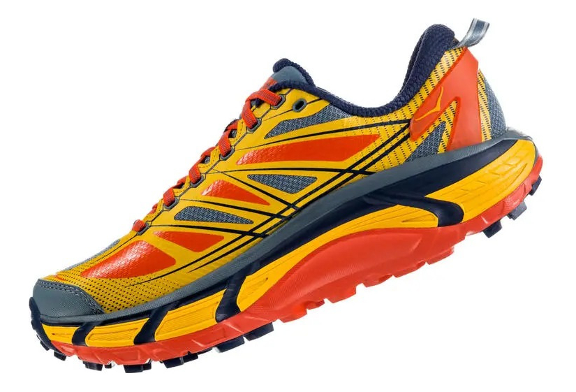 buy popular 4077e 7d238 Hoka One One Mafate Speed 2 Yellow Orange Men
