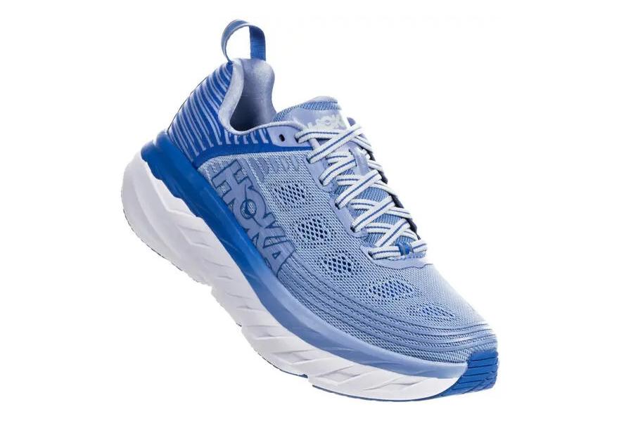 sneakers for cheap a709d fe70a Hoka One One Bondi 6 Blue Women