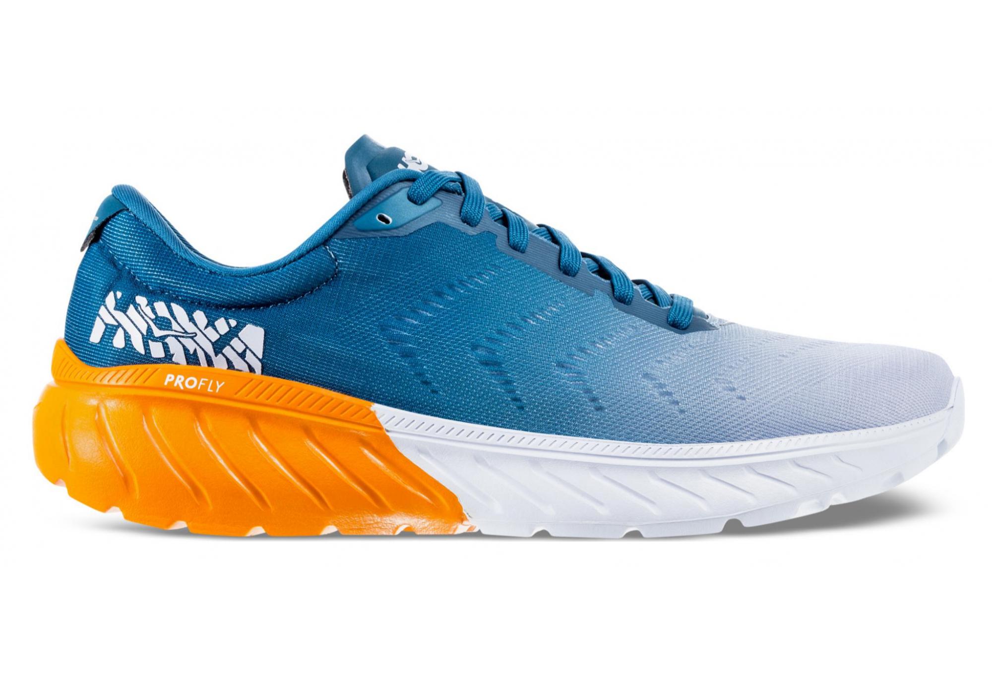 brand new 09522 fe85c Hoka One One Mach 2 Blue Orange Men