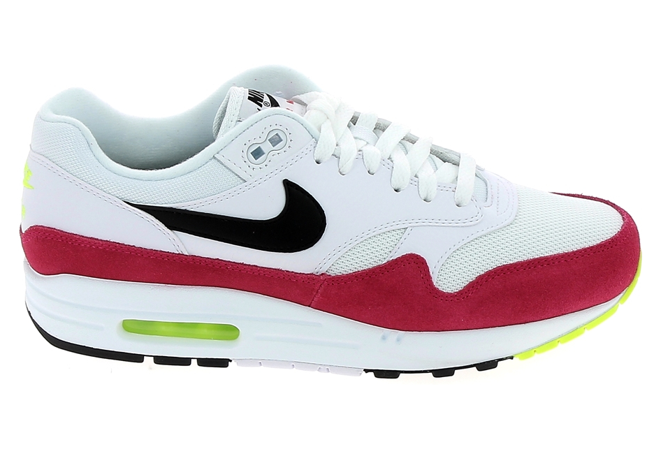 rencontrer 546e4 cfcac Basket mode, SneakerBasket mode - Sneakers NIKE Air Max 1 Blanc Rouge