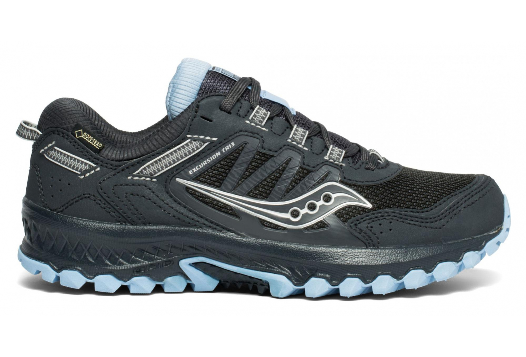 Saucony Excursion TR13 GTX Trail Running Shoes Women black chambray