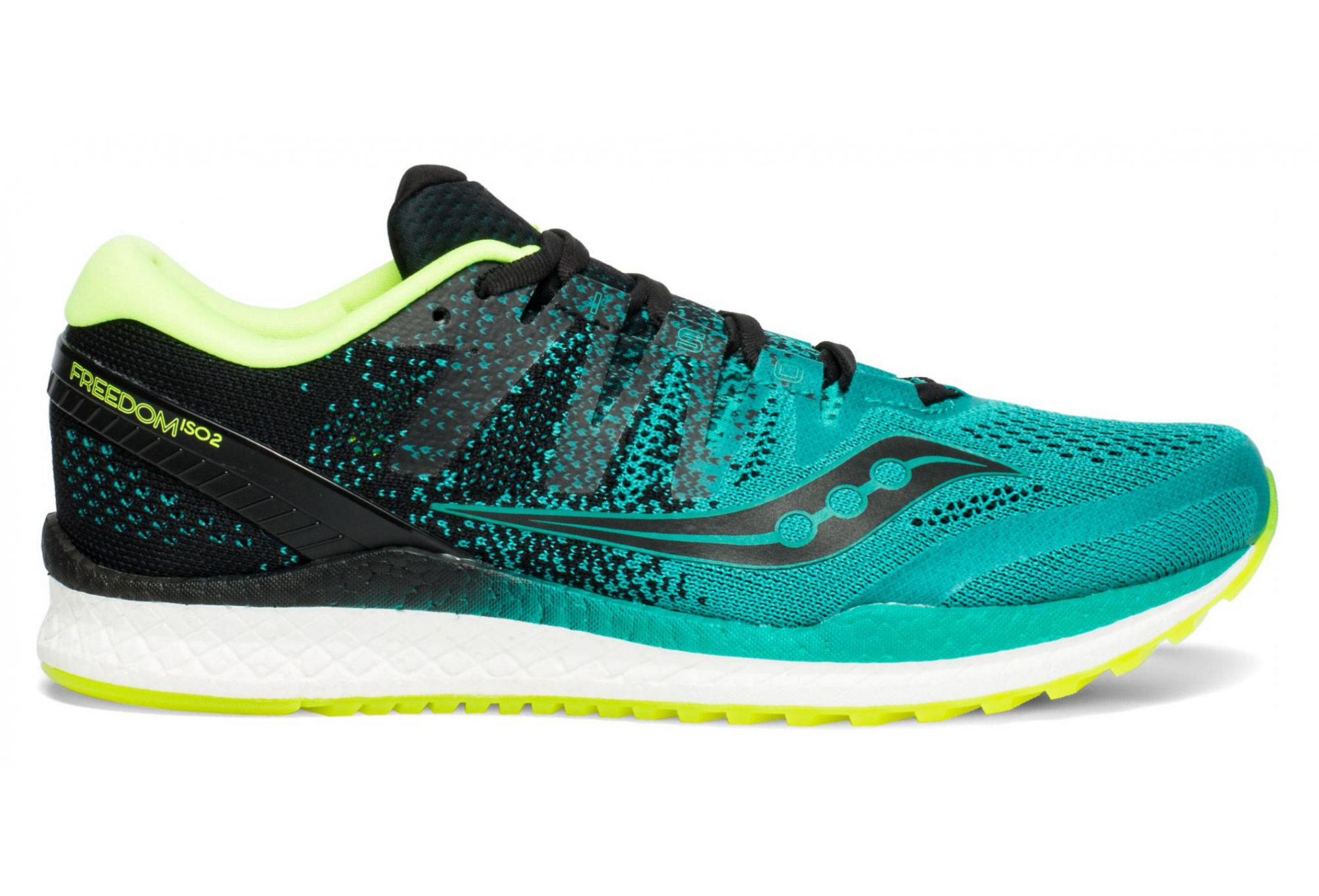 Saucony FREEDOM ISO 2 Teal Black Homme