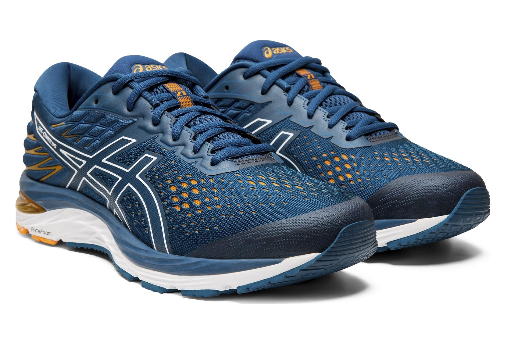 Asics Gel Cumulus 21 Blue Orange Men