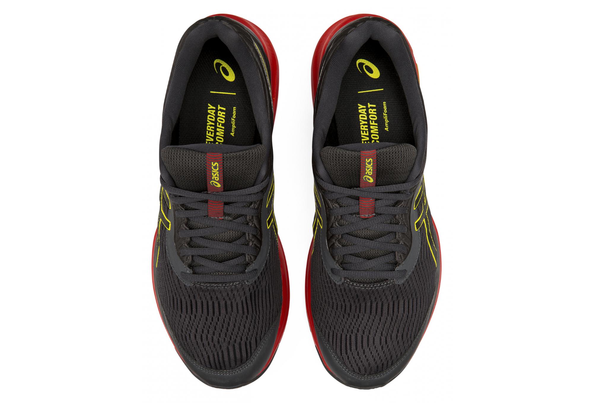 Asics Gel Pulse 11 GTX Grey Yellow Red Men