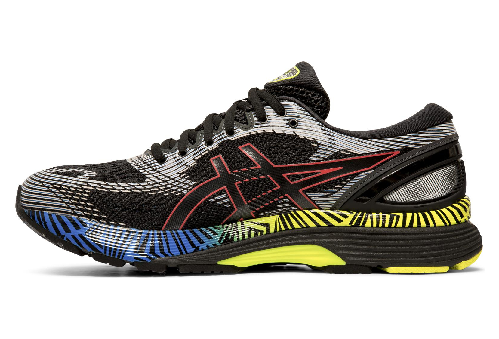 Asics Gel Nimbus 21 Lite Show Black Multi-color Men