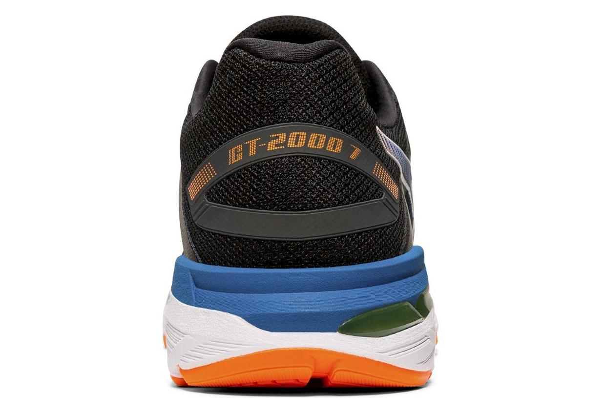 Asics GT 2000 7 Black Blue Orange Men