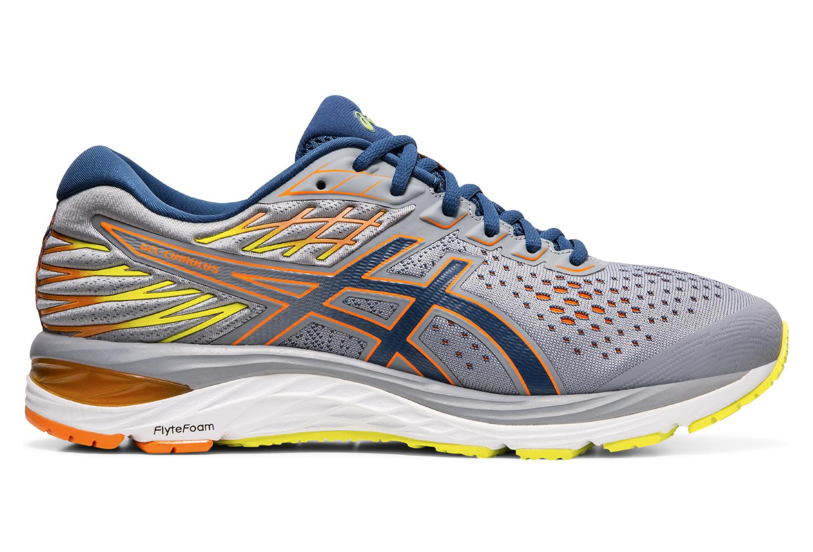 Asics Gel Cumulus 21 Grey Blue Men