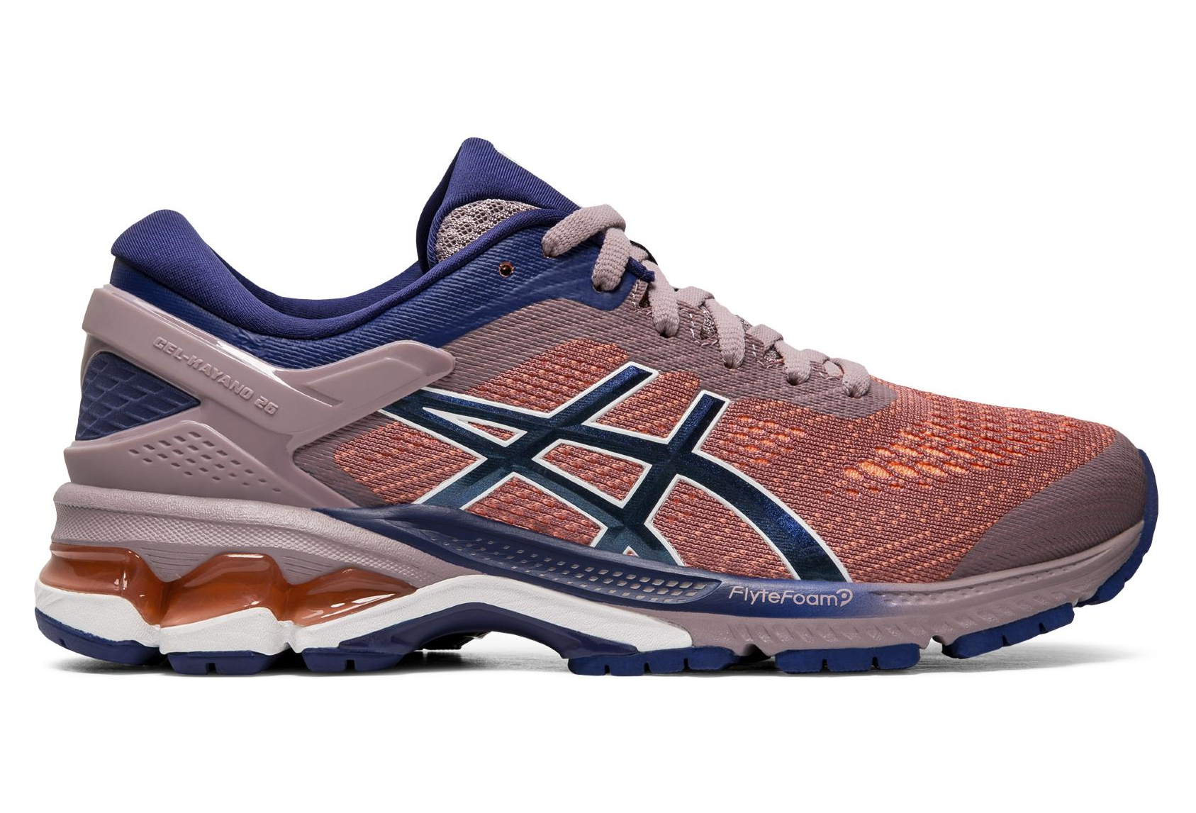 Asics Gel Kayano 26 Purple Blue Women