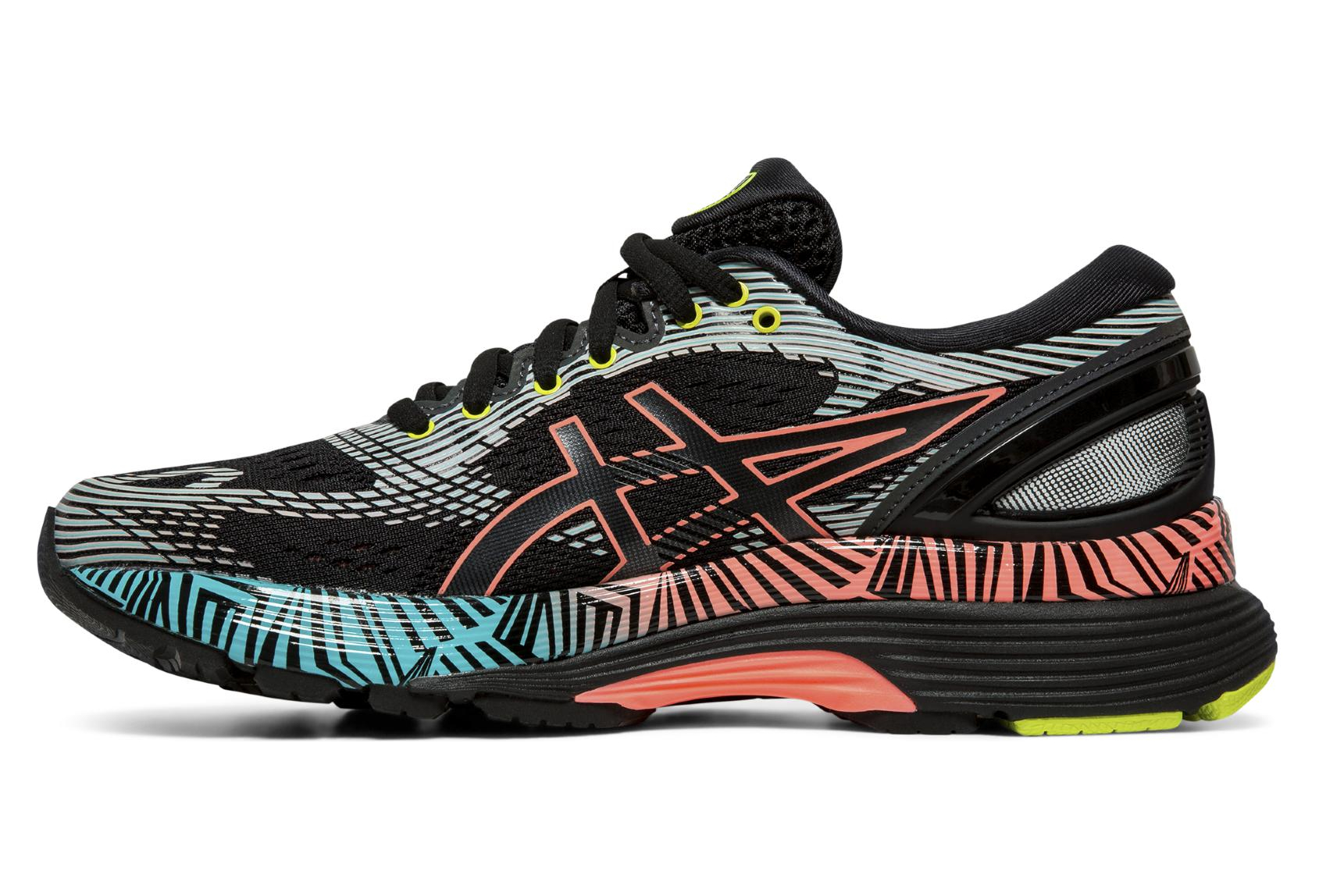 Asics Gel Nimbus 21 Lite Show Black Multi color Women