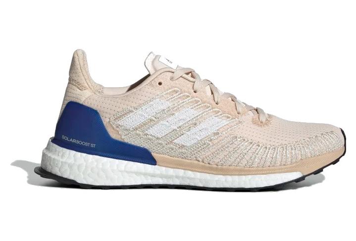 Zapatillas de running Adidas Solar Boost ST para mujer, color rosa / azul