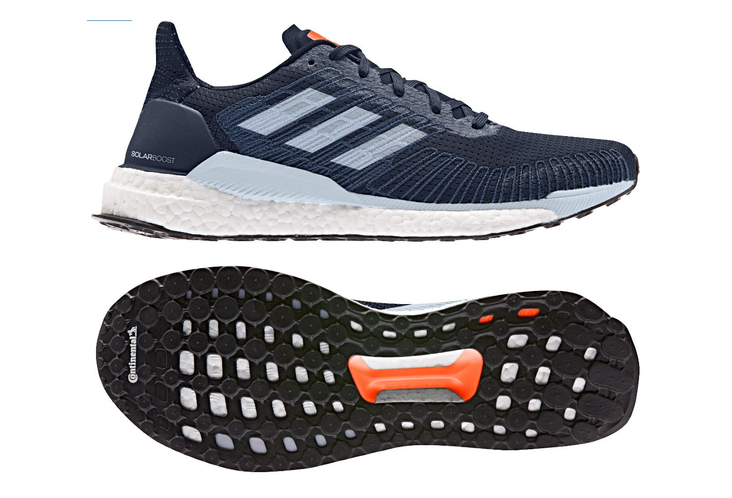 recognized brands official supplier lowest price Adidas Solar Boost Running Shoes Blue