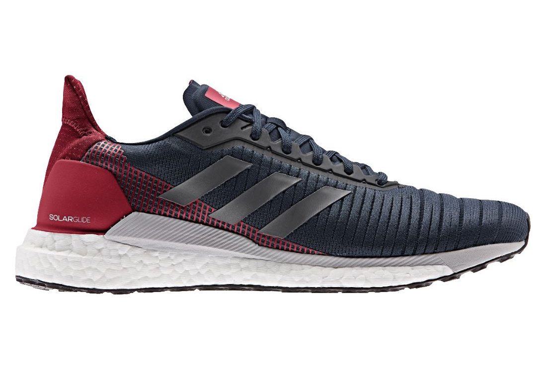 Adidas Solar Glide Running Shoes Blue Red