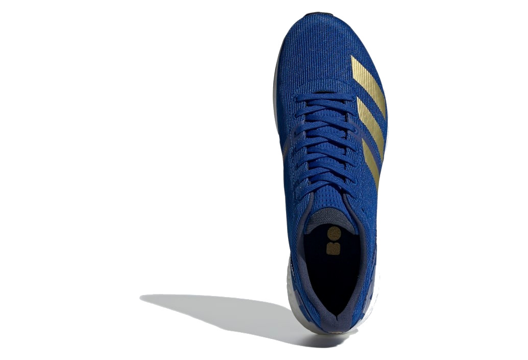 Chaussures de Running adidas adizero Boston 8 Bleu Or