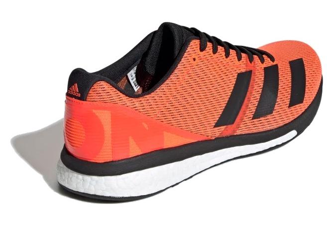Chaussures de Running adidas adizero Boston 8 Orange Noir