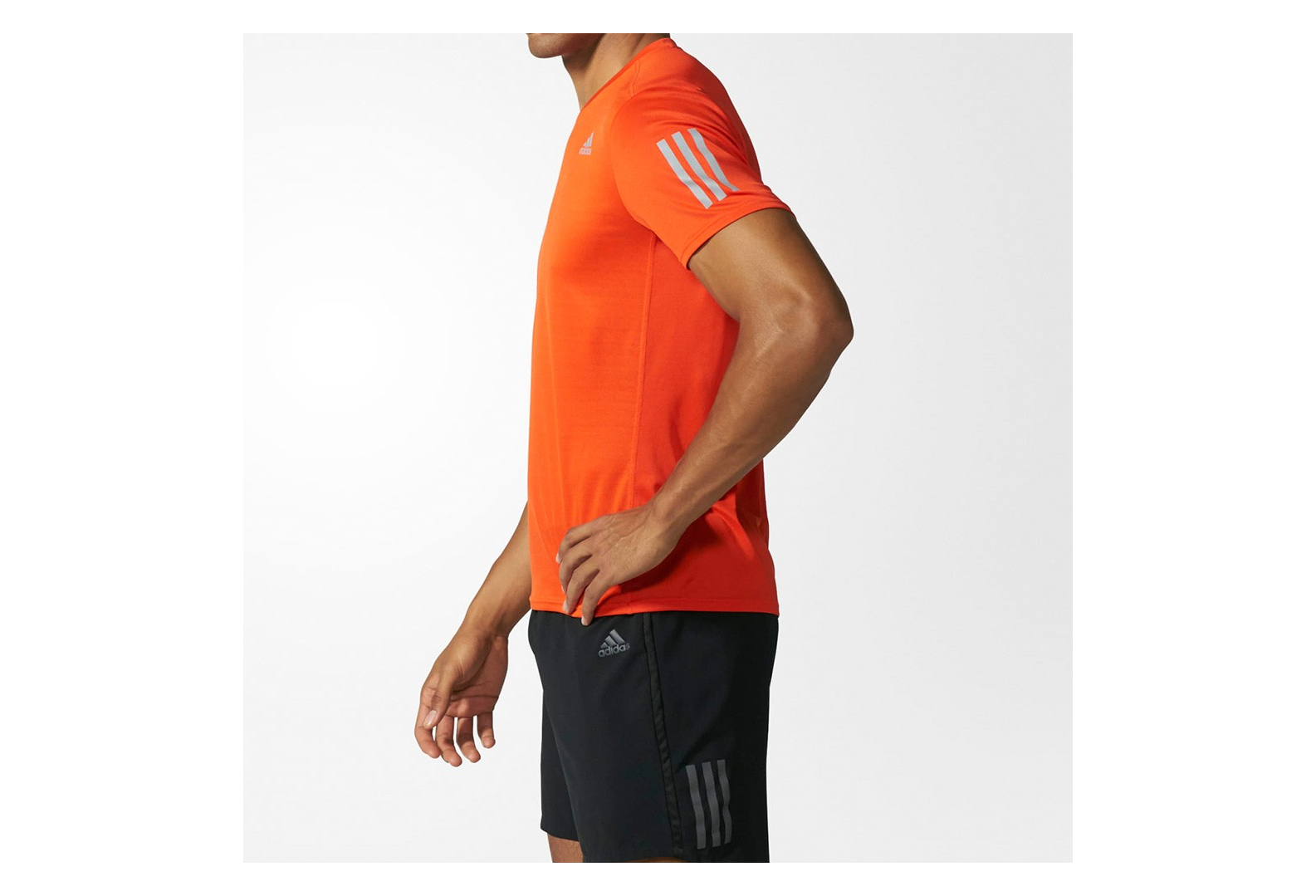t shirt adidas homme orange