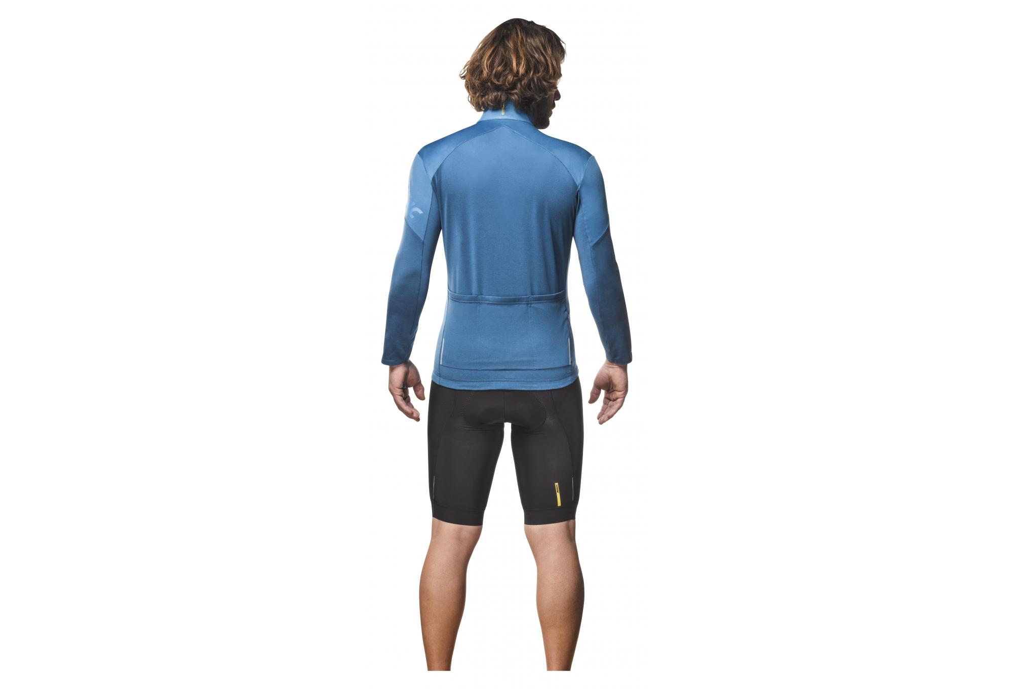 uk availability new authentic buying new Mavic Cosmic Plain Long Sleeve Jersey Blue