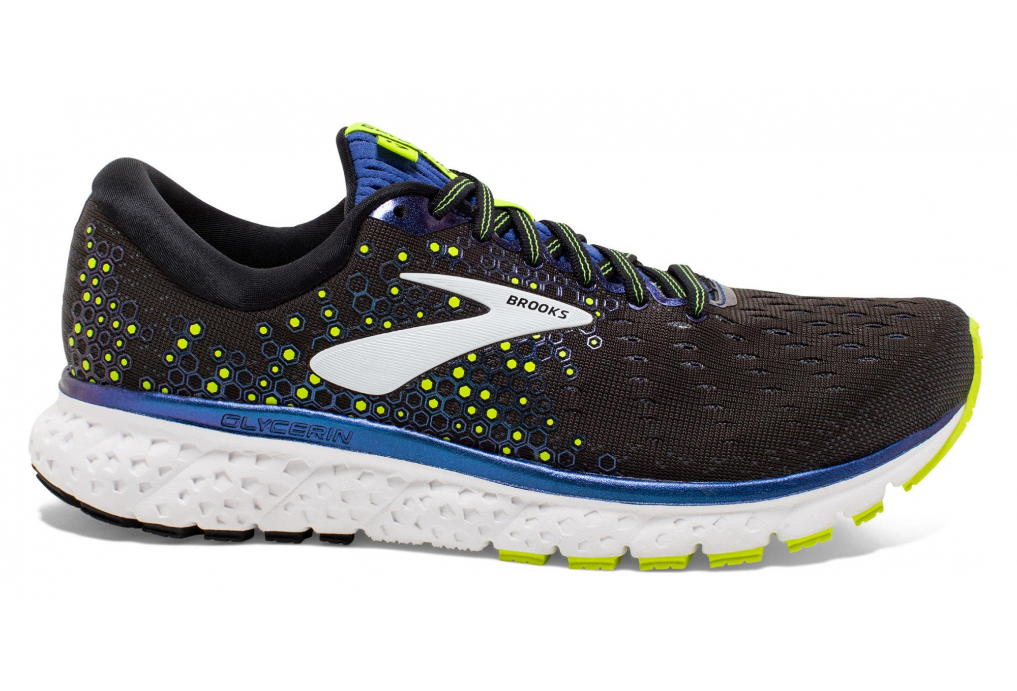 BROOKS Glycerin 17 Mens Black Blue