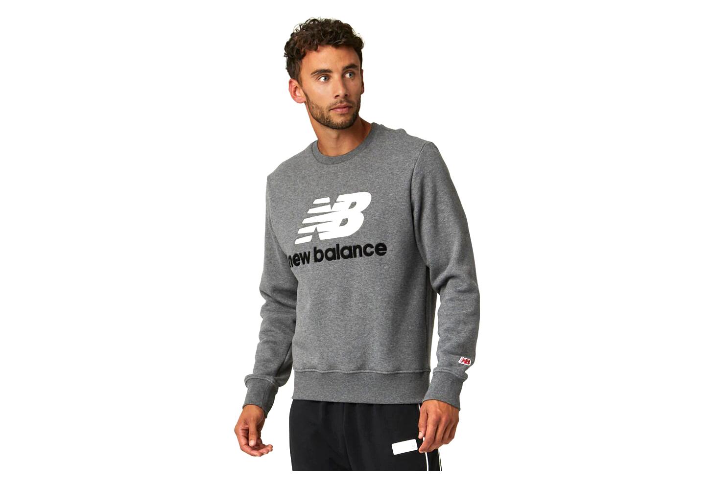 New Balance NB Athletics Sweat Grey Men | Alltricks.com